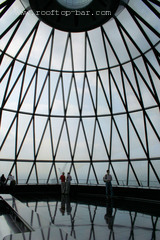 Top floor of The Gherkin