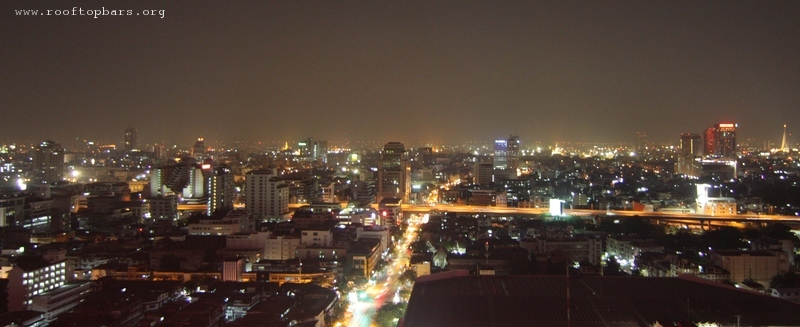 View from the rooftop on Siam@Siam Hotel