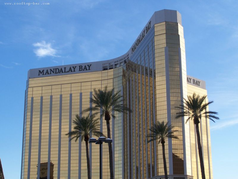 Mandalay Bay as seen from Luxor Hotel